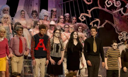 Students stage kooky showstopper with Addams family sellout