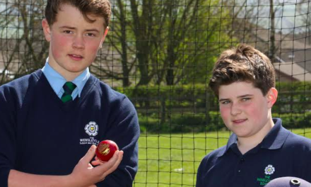 Cricketers bowled over by success