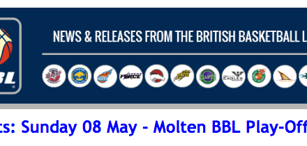 BBL – Results: Sunday 08 May – Molten BBL Play-Off Final