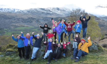 Fund-raising Friends Help Outdoor Education Centre
