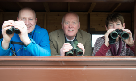 New Bird Hide Honour For Tees Twitcher