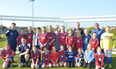 Young Cramlington Footballers Score with The Banks Group