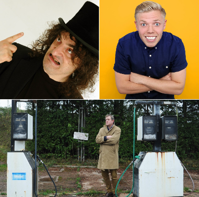 Three new comedy shows announced at Tyne  Theatre & Opera House