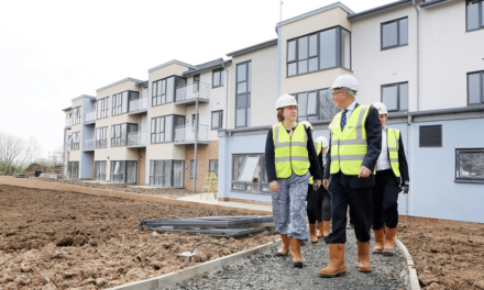 Berwick MP takes a tour of new Extra Care