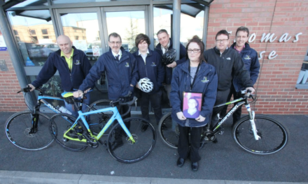 Kind-hearted colleagues raise money for heart charity