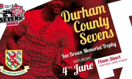Billingham to host England Rugby 24/Sevens Qualifier