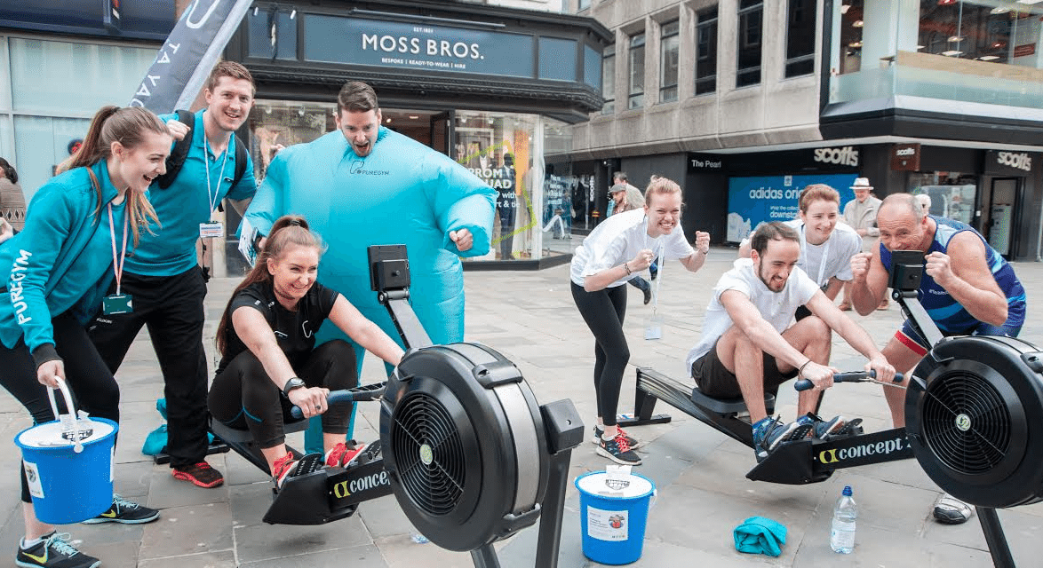 Dedicated Dad 'rowing' the extra mile for North East charity