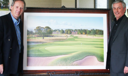 World Renowned Golf Artist Unveils Special Commission at Rockliffe Hall