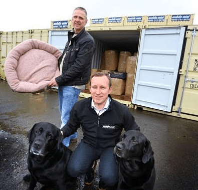 Dogs can't 'Container' their Excitement for Wolfybeds