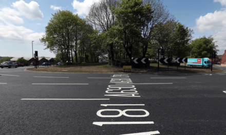 Switch on for Gilesgate roundabout