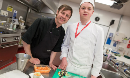 Newcastle College Hospitality Course Spiced up by Sohe