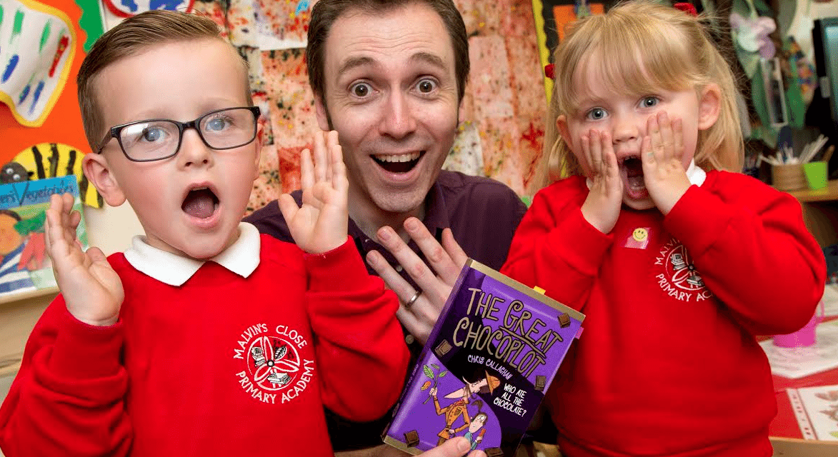 Chocolate nightmare for Malvin's Close pupils