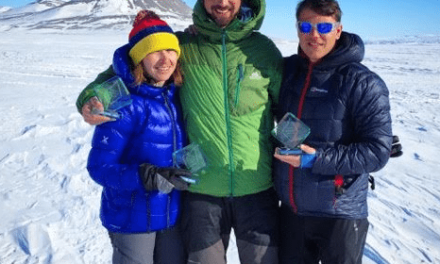 Northumberland National Park Mountain Rescue Team Member becomes an Iceman!