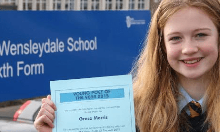 student becomes Young Poet of the Year