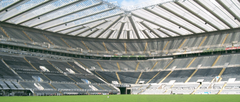 St James' Park in the line up for top awards