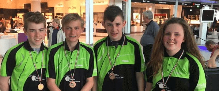 Bishop Auckland Table Tennis players Hungary for success