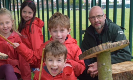 Drumming up support for youngsters