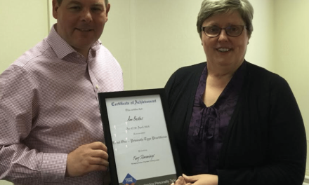 County Durham coach becomes first to gain new NE accreditation