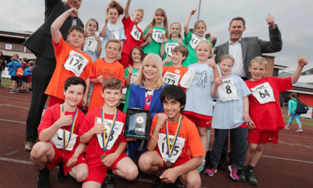 Youngsters go for gold at the Riverside