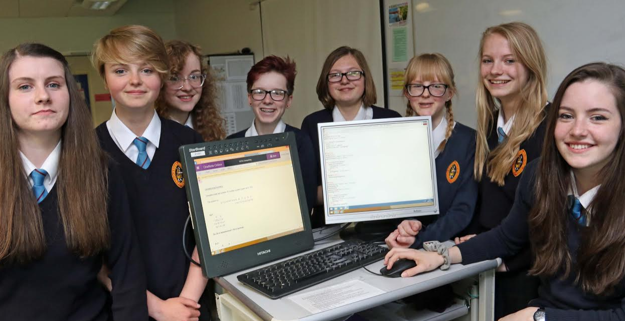Schoolgirls Success in the World of Computing