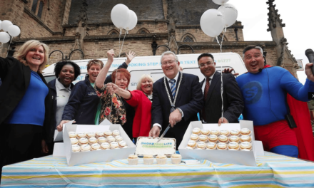 Roadshow launch of Durham County Council's new stop smoking service
