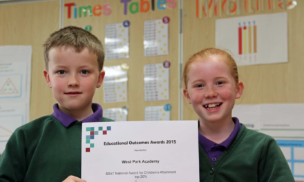 Double national praise for top performing primary school