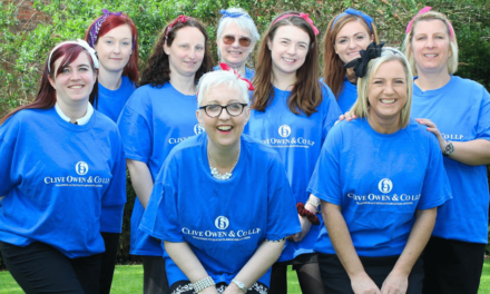 Support for midnight walk adds up as accountants join event