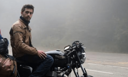 South Shields lad is setting off to circumnavigate the world by motorbike for charity
