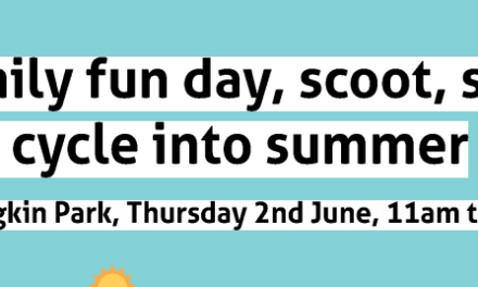 Family Fun Day Thursday 2nd June