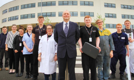 Hartlepool College rises up the  apprenticeship league table