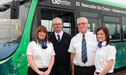 Bus company urges people to vote for their favourite bus driver