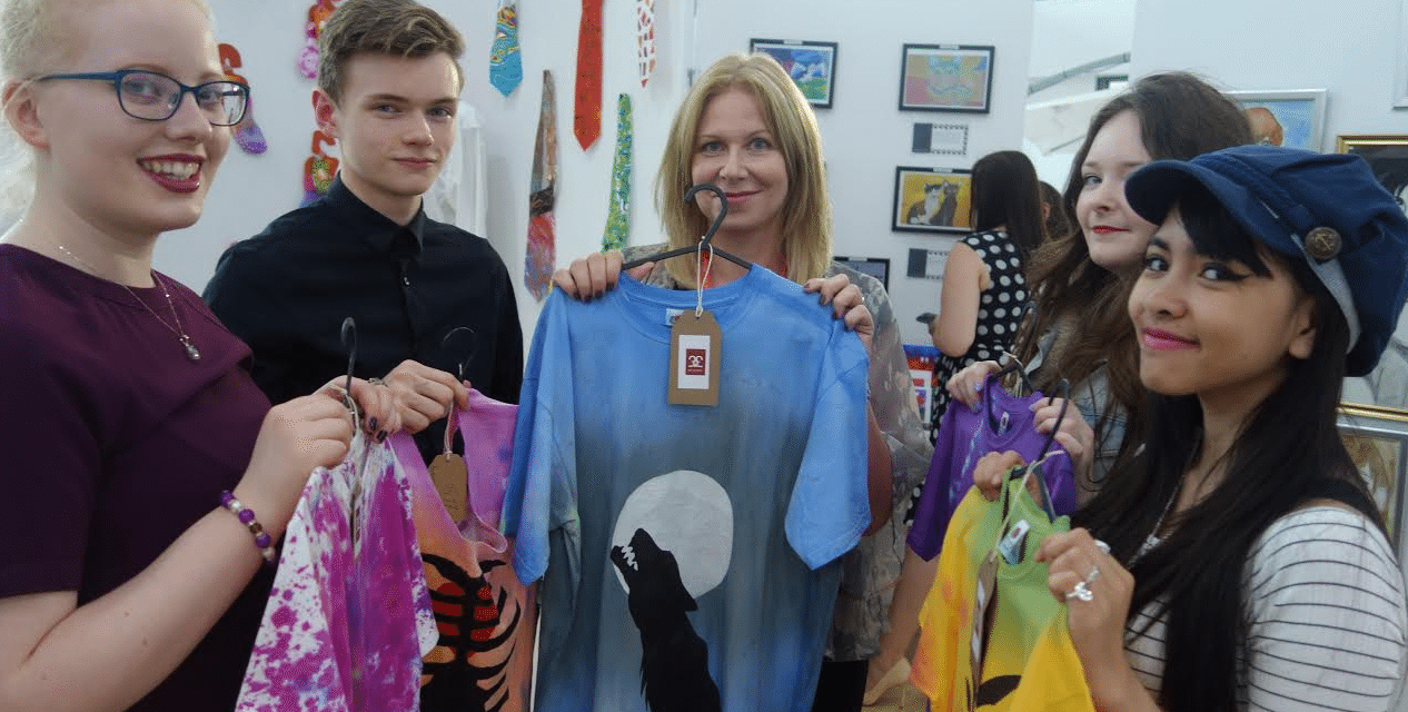 Students show that Art Works for them