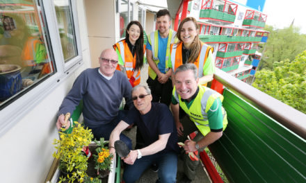 Green fingered residents celebrate newly refurbished Byker wall