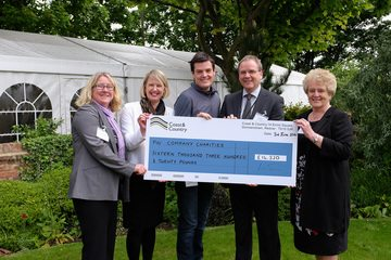 Coast & Country celebrates three years of charity support
