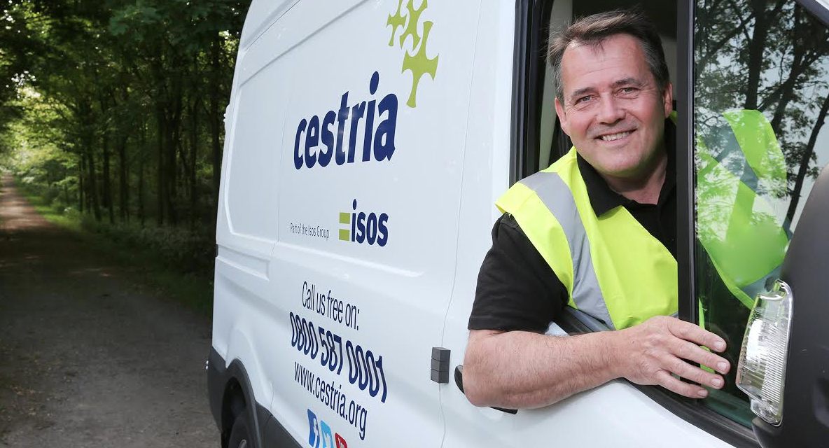 New vans and a new identity for high performing Cestria repairs staff