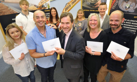 Construction firm pledges commitments to charities