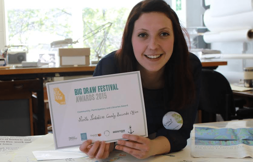 County Record Office wins national Big Draw award