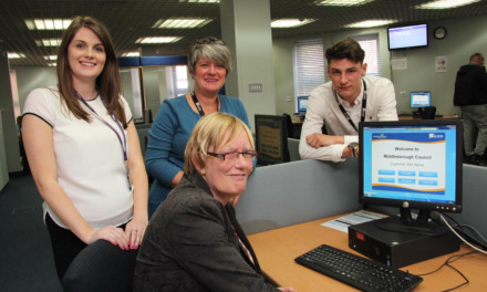 Customer Services Praised for going 'Over and Above'