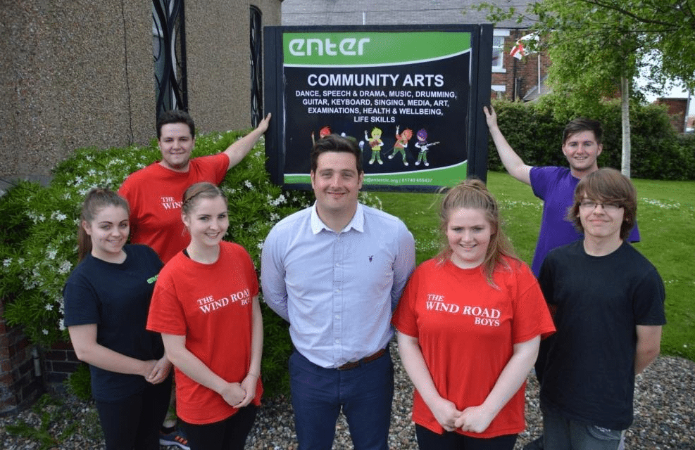Banks Group steps up to Support Enter CIC Music Room Repairs