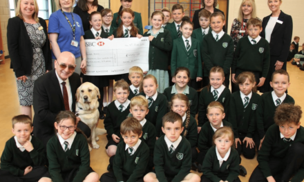 Children to sponsor guide dogs after readathon