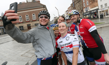 Cycling Champion on Course to Defend Title in Stockton