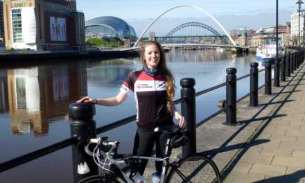 Cyclist to go the extra mile across Europe in aid of North charities
