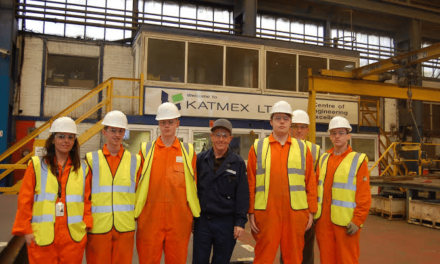 Hartlepool College engineering students go behind the scenes at Katmex