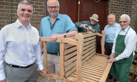 Men in a Workshop and housing provider team up to help tackle social isolation