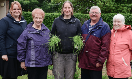 Green scheme culminates in community celebration