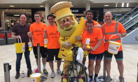 INTU Metrocentre cycles for sunshine fund