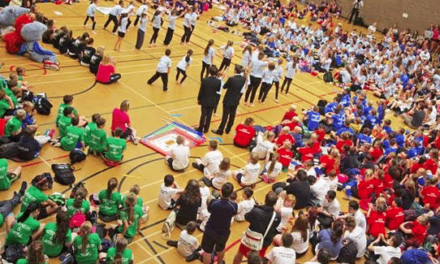 Young People Compete In Northumberland 'Olympics'