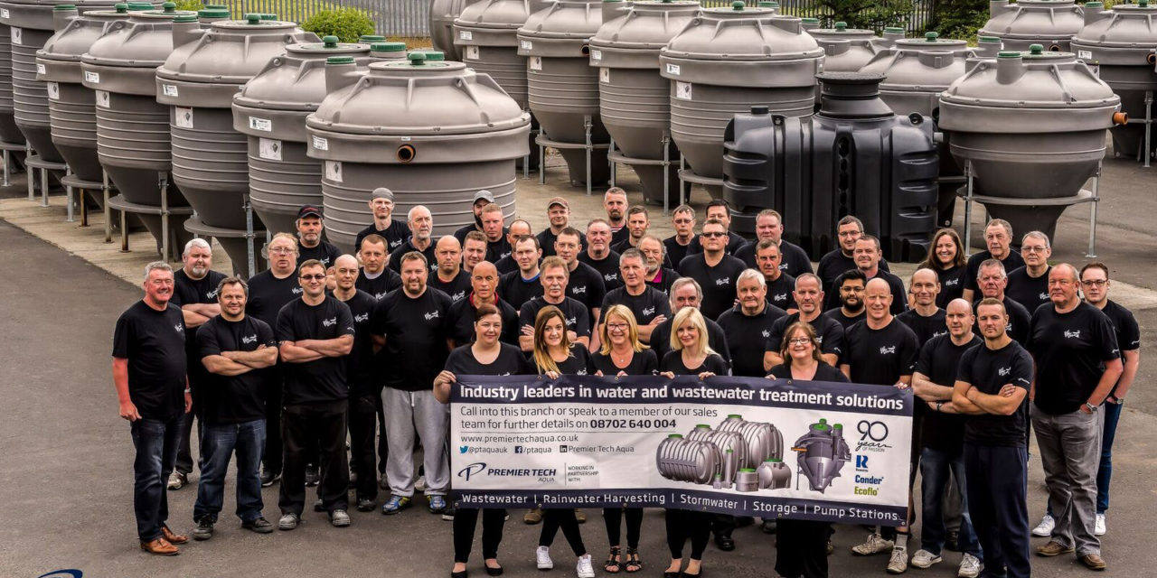 Global wastewater solutions company unites to celebrate its succesfully embedded culture