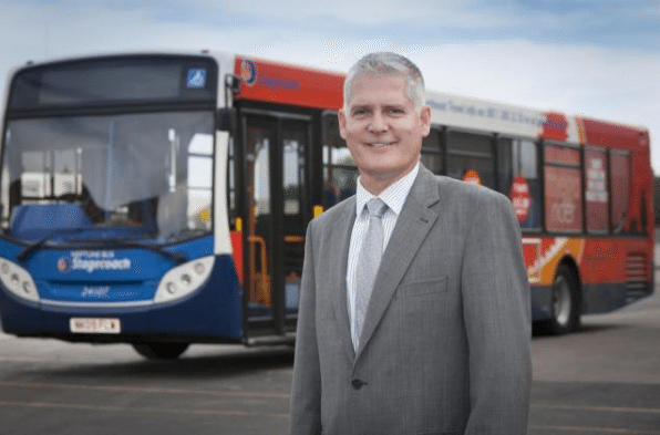 Stagecoach North East Managing Director Moves On
