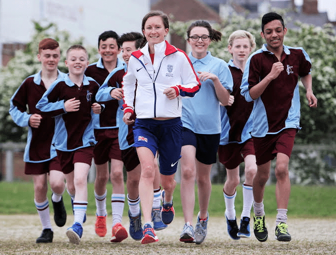 Aly joins former school in Run to Rio charity challenge